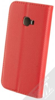 Sligo Smart Magnet flipové pouzdro pro Samsung Galaxy Xcover 4, Xcover 4S červená (red) zezadu