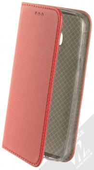 Sligo Smart Magnet flipové pouzdro pro Samsung Galaxy Xcover 4, Xcover 4S červená (red)