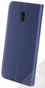 Sligo Smart Magnet flipové pouzdro pro Xiaomi Redmi 8A tmavě modrá (dark blue) zezadu