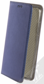 Sligo Smart Magnet flipové pouzdro pro Xiaomi Redmi 8A tmavě modrá (dark blue)