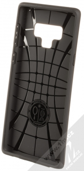Spigen Liquid Air ochranný kryt pro Samsung Galaxy Note 9 černá (matte black) zepředu