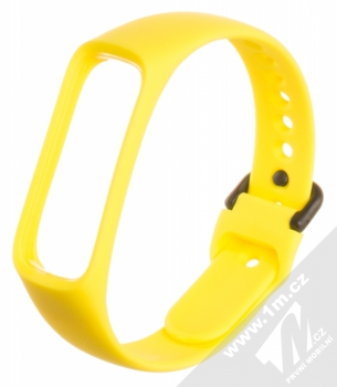 Tactical Single Color Strap silikonový pásek na zápěstí pro Samsung Galaxy Fit e žlutá (yellow)