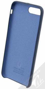 USAMS Joe kožený ochranný kryt pro Apple iPhone 7 Plus modrá (blue) zepředu