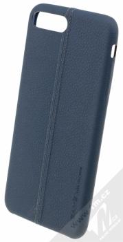 USAMS Joe kožený ochranný kryt pro Apple iPhone 7 Plus modrá (blue)