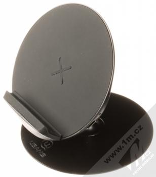 USAMS Lote Center Console Wireless Charger stojánek rychlého bezdrátového nabíjení černá (black)