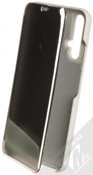 Vennus Clear View flipové pouzdro pro Honor 20, Huawei nova 5T stříbrná (silver)