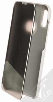 Vennus Clear View flipové pouzdro pro Huawei Y6 Prime (2019), Y6s, Honor 8A stříbrná (silver)