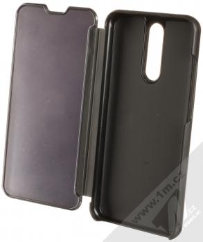 Vennus Clear View flipové pouzdro pro Xiaomi Redmi 8 černá (black) otevřené
