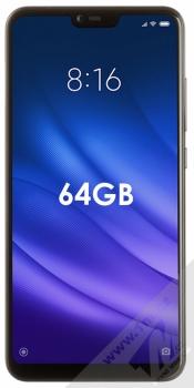 Xiaomi Mi 8 Lite 4GB/64GB černá (midnight black) zepředu
