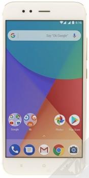 XIAOMI MI A1 4GB / 64GB Global Version CZ LTE zlatá (gold) zepředu