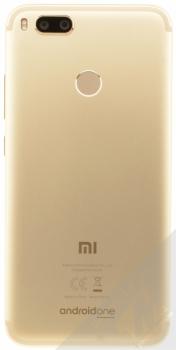 XIAOMI MI A1 4GB / 64GB Global Version CZ LTE zlatá (gold) zezadu