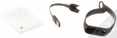 Xiaomi Mi Band 3 chytrý fitness náramek se senzorem srdečního tepu černá (black) balení