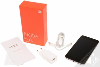 XIAOMI REDMI NOTE 5A 2GB/16GB Global Version CZ LTE tmavě šedá (dark grey) balení