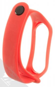 Xiaomi Strap silikonový pásek na zápěstí pro Xiaomi Mi Band 3 červená (red) zezadu