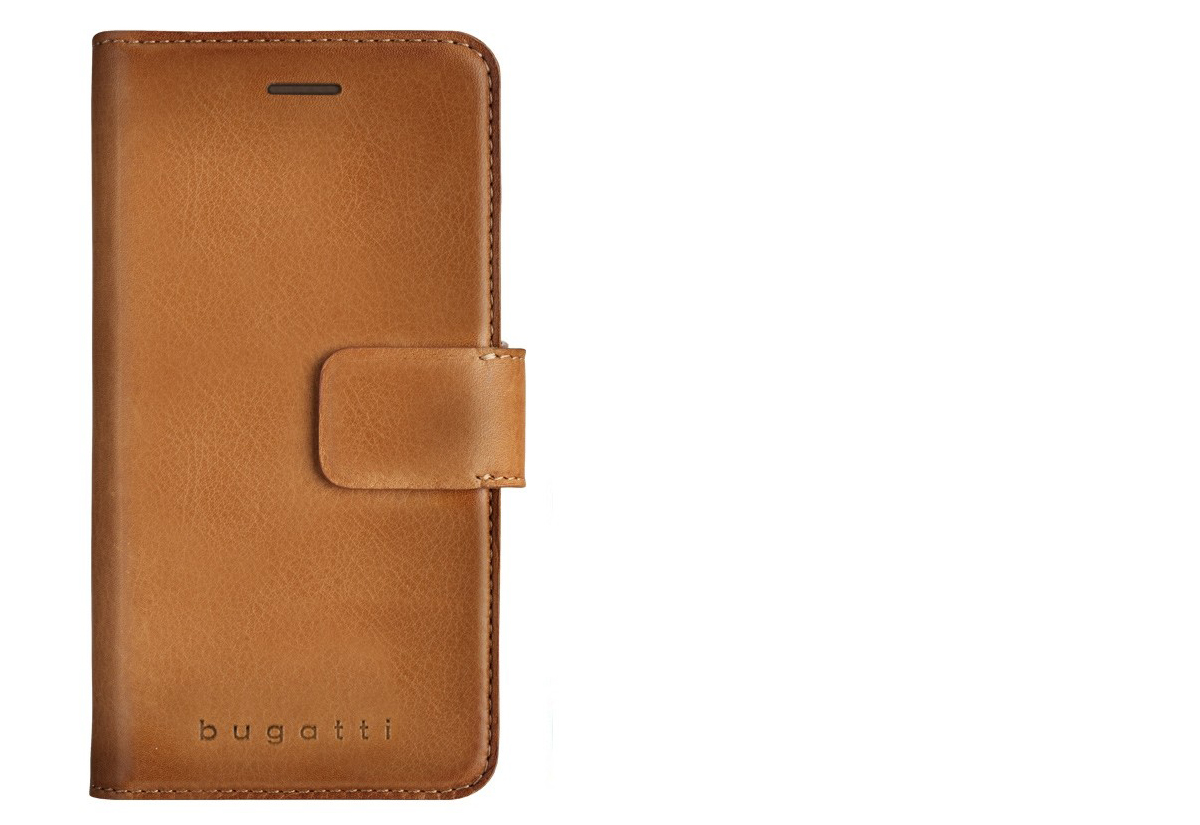 Bugatti Zurigo Full Grain Leather Booklet Case Pro Apple Iphone 7 Nillkin Oger Plus Flipov Pouzdro Z Prav Ke