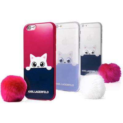 Karl Lagerfeld Peekaboo Soft Case ochranný kryt pro Apple iPhone 7 ... fdd8293d1c2