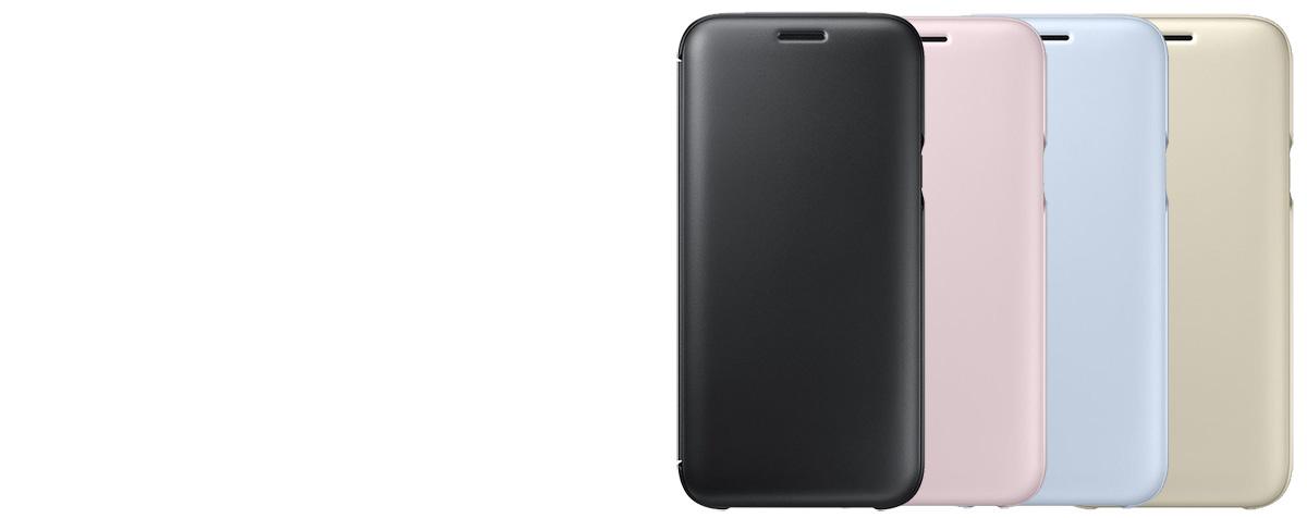 Samsung EF-WJ530CL Wallet Cover originální flipové pouzdro pro Samsung  Galaxy J5 (2017) 1e1b78dabfb