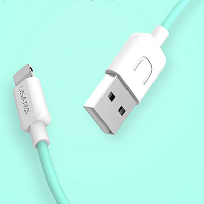 USAMS U-Turn US-SJ097 USB kabel s Apple Lightning konektorem